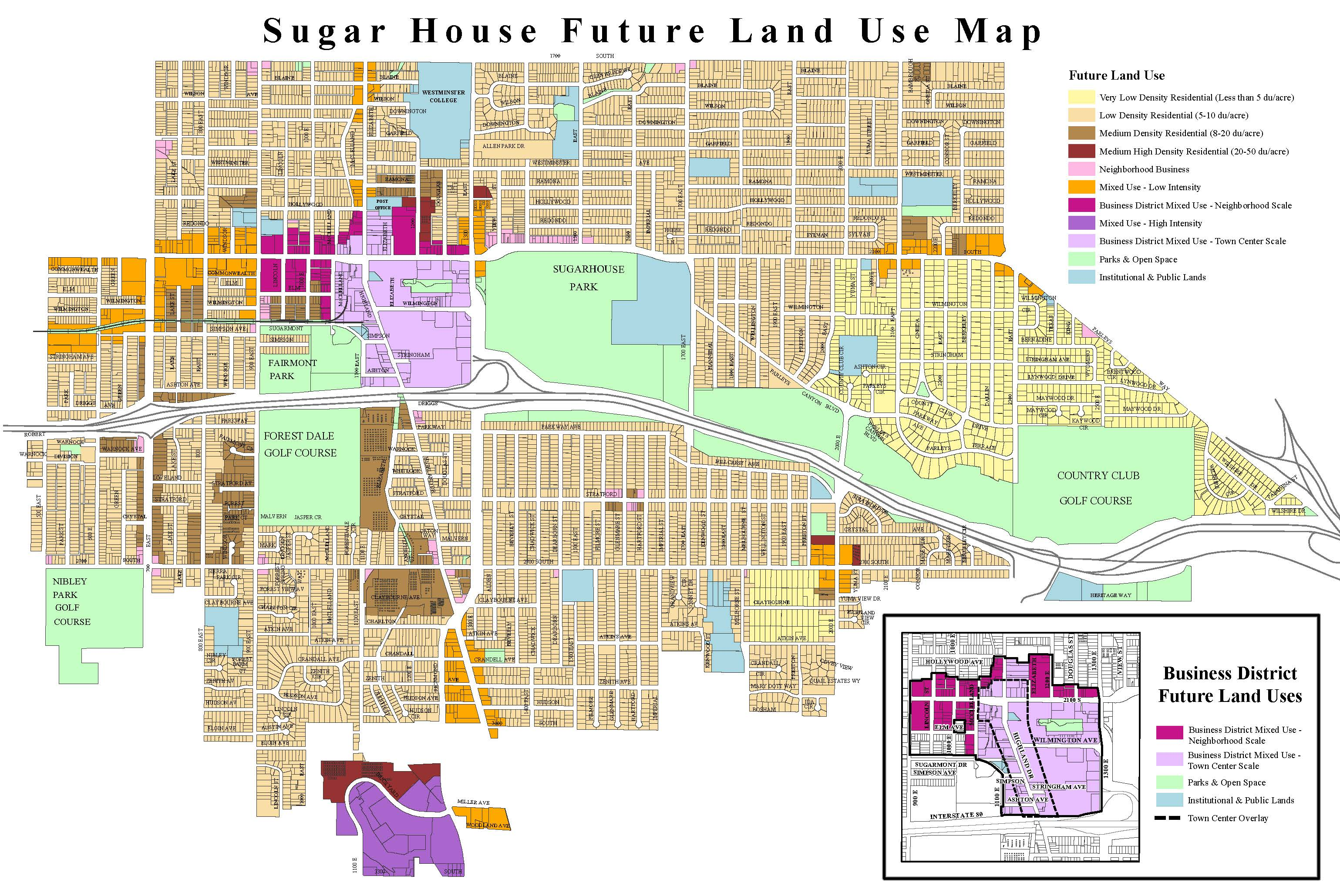 Sugar House Master Plan   Sugar House Community CouncilYou   also view the Sugar House Future Land Use Map to learn more about current zoning of our neighborhoods